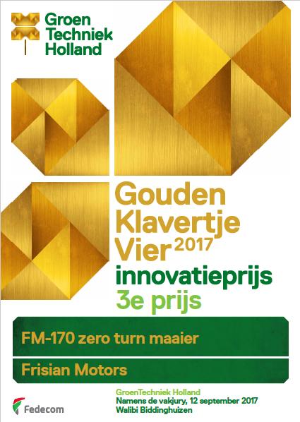 Frisian Motors pakt derde plaats bij landelijke innovatie prijs