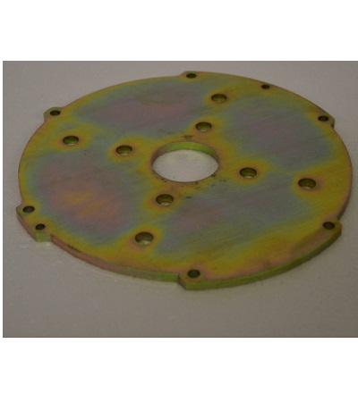 FM-70 mowing deck engine assembly plate 1
