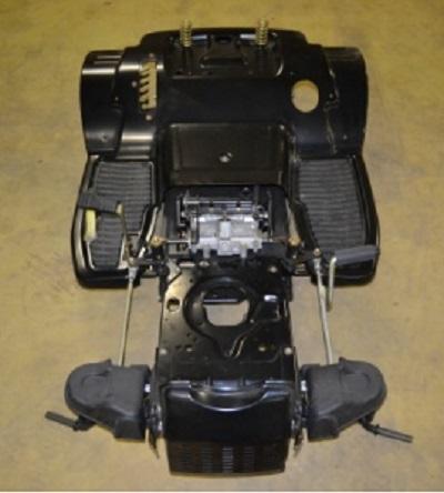FM-70 chassis/frame/ledig 1