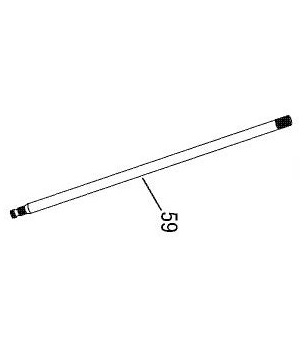 FM-70 steering column (shaft) 1