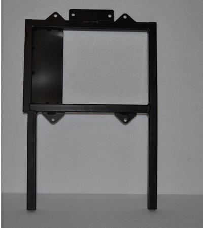 Leffert seat mount bracket frame left 1