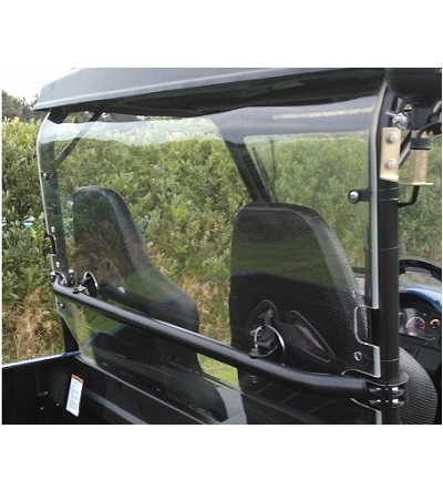 FM-80 polycarbonate rear window 1