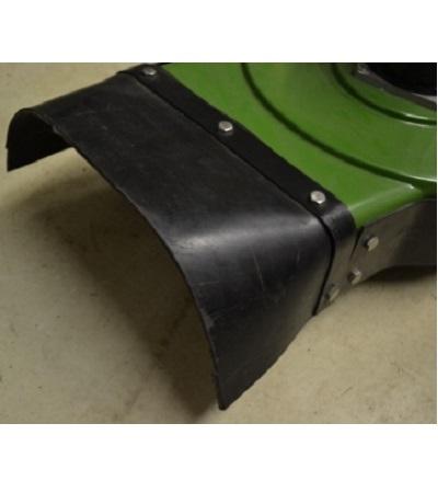 FM-30 zij uitwerp kap rubber van maaidek 1
