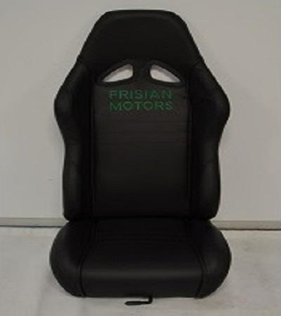 Leffert stoel links zwart + logo (V2 & V3) 1